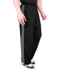 Black 3 Stripes Lower for Men