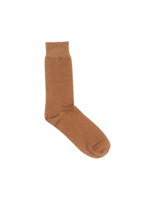 Men's Cotton Brown Length Socks