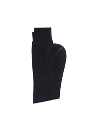 Men's Black Length Socks