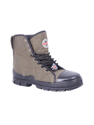 Olive Green ABC Jungle Boots