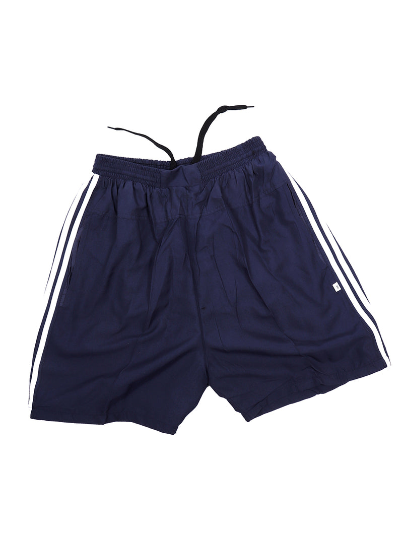 Blue Sweat Free Shorts for  Men