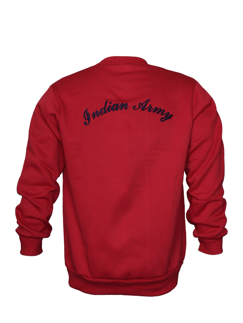 Red Sweatshirt Indian Army