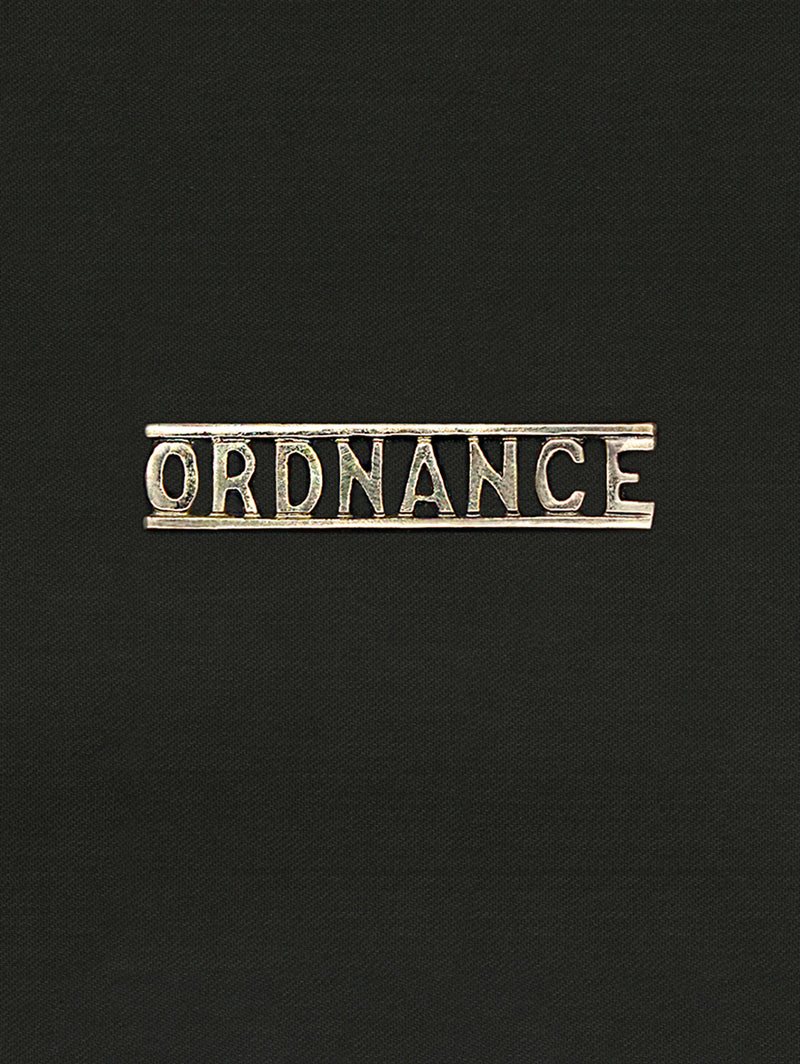 Shoulder Title Army Ordnance Corps
