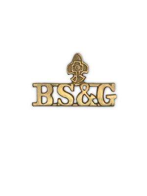 Shoulder Title Bharat Scout and Guides