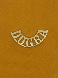 Shoulder Title Dogra Regiment