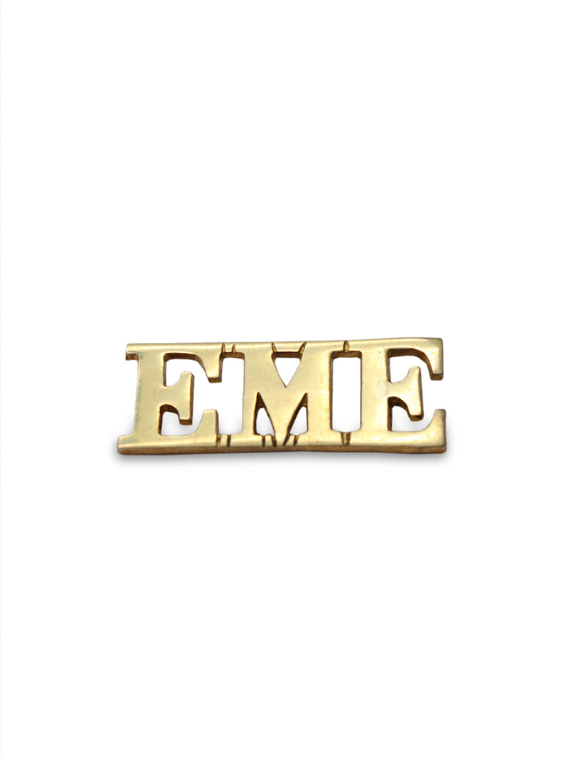 Shoulder Title The Corps of Electronics and Mechanical Engineers