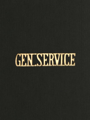 Shoulder Title General Service