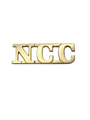 Shoulder Title National Cadet Corps