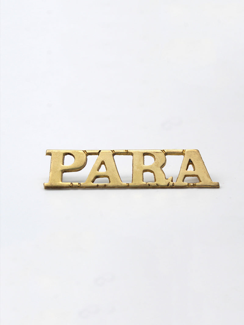 Shoulder Title The Parachute Regiment