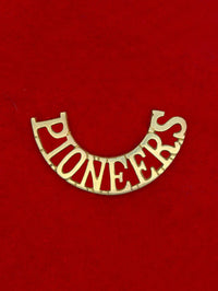 Shoulder Title Pioneer Corps