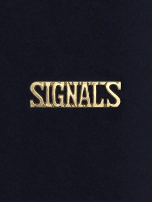 Shoulder Title The Corps of Signals