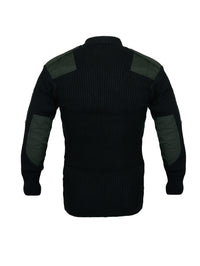 Dark Green Woolen Jersey