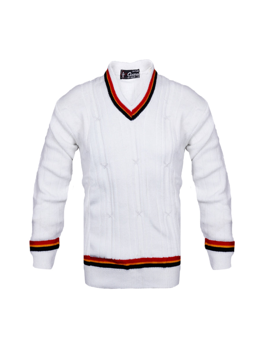 White Woolen Jersey RBY