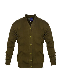 Dark Khaki Y-Neck Jersey