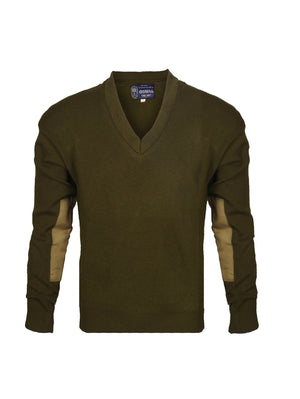 Dark Khaki V- Neck Sweater Uttar Pradesh Police