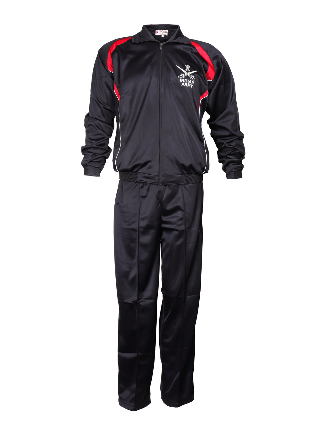 Black & Red Tracksuit Indian Army