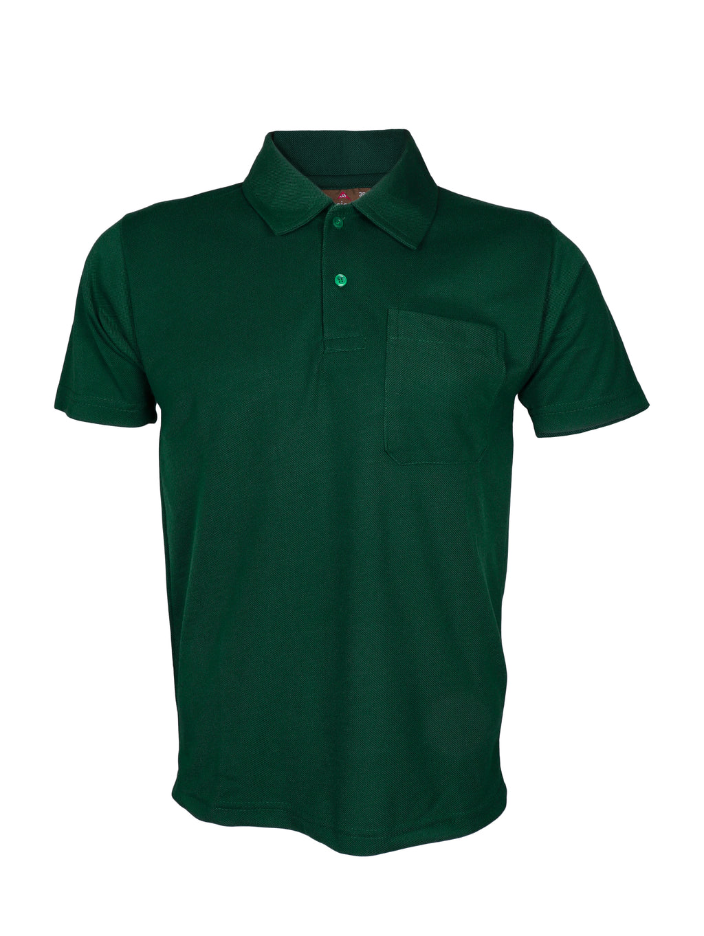 Green Half Sleeve Polo T-Shirt
