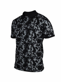 Active Camo Light Green Half Sleeve Polo T-Shirt