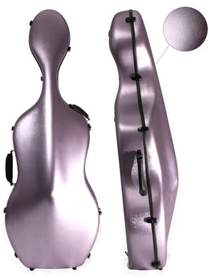Polycarbonate Cello Case Brushed Lilac  (Without Wheels only)
