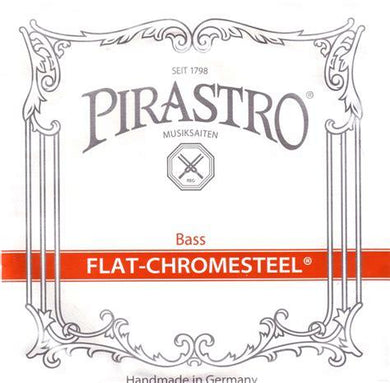 Flat-Chromesteel Bass Set Orchestra 3/4