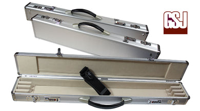 GSJ Silver Alloy Bow Case  - 4 BOWS
