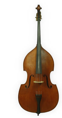 Lemoine double bass, Gamba-model, Outfit  3/4
