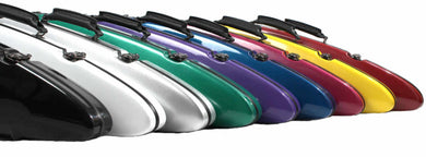 Sinfonica Violin Rocket 4/4 Fibreglass White, Black, Yellow, Blue, CherryRed, Red, Green, Emerald Green, Silver, Pink, Purple