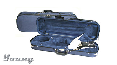 Oblong Viola Case 15/15.5 16/16.5inch Blue/Blue