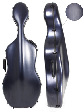 Polycarbonate Cello Case Blue (With/Without Wheels)