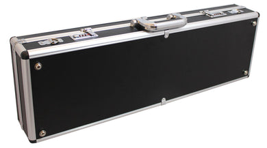 GSJ Black/Silver, Silver Alloy Violin Case