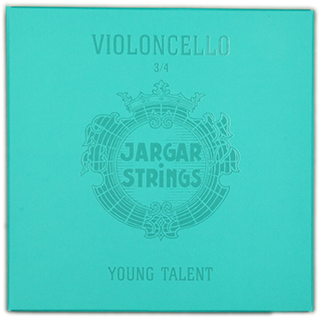 Jargar Cello Set Young Talent 1/4 Med Only