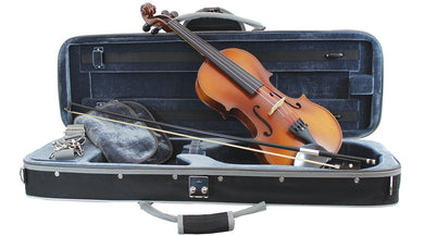 Primavera Loreato Violin Outfit Sizes: 4/4-1/2