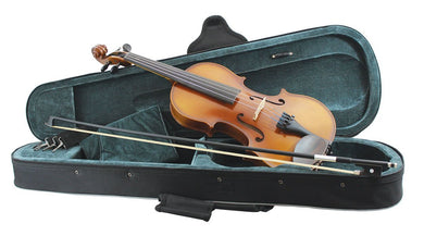 Primavera 200 Violin Outfit Sizes: 4/4-1/16 -Inc 1/10