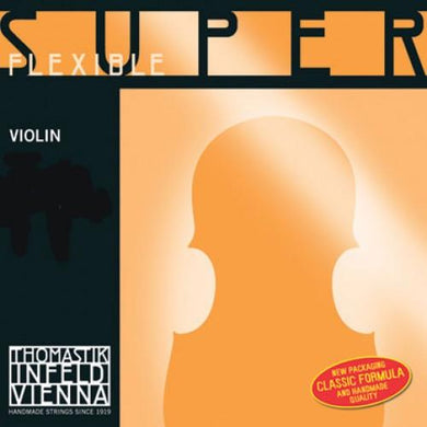 SuperFlexible Violin SET. 4/4 - Weak (8,10,12,13)