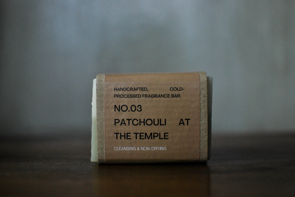 No. 03 Patchouli at the Temple Soap