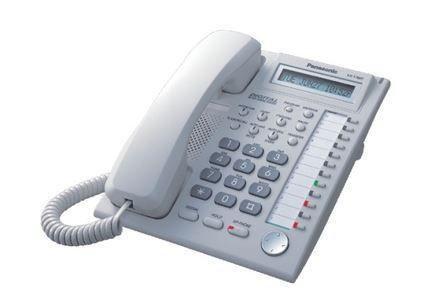 PANASONIC KX-T7665 WHITE PHONE - REFURBISHED