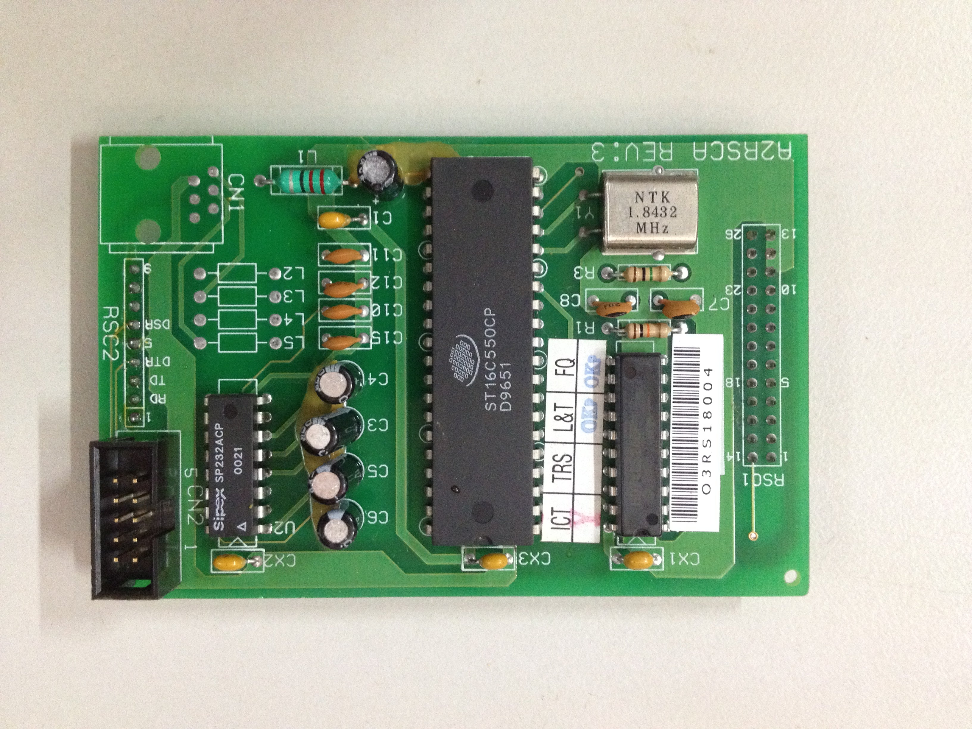 Aristel RS232 Card A2RSCA