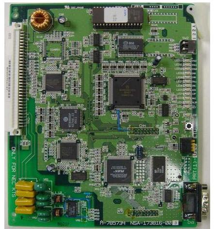 NEC BSU(2)-U13 PHS Base Station Interface Card