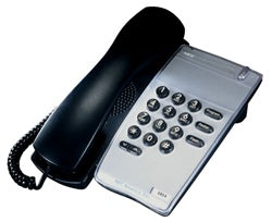 NEC Single Line Analogue Telephone handset DTR-1-1A (BK) TEL