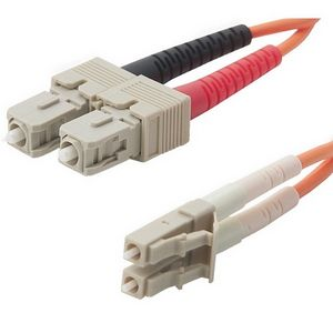 Belkin Multimode Duplex Fiber Patch Cable 62.5/125mm, SC-LC - 5m
