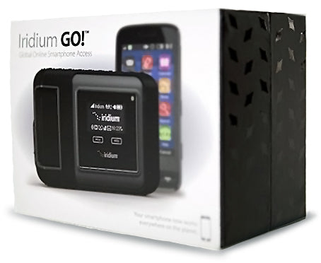 Iridium GO! Global online Smartphone Access