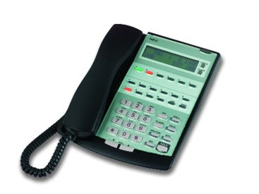 NEC IP2AT-12TXD TEL2 Vision 12 Button Display Telephone (Black)