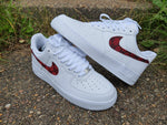 Red, Black & White AF1/ Gucci Air Force 1 Low -