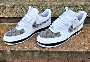 Black, White & Grey Nike AF1/ GG Air Force 1 Low -