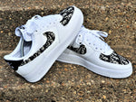Black & White Nike AF1/ Dior Air Force 1 Low - Uniquefit Apparel