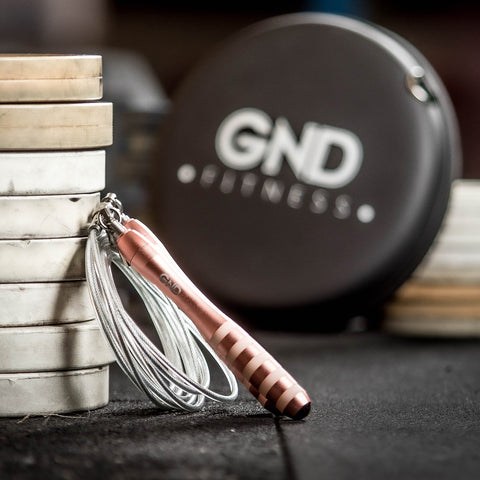 GND WEIGHTED SKIPPING ROPE \\ ROSE GOLD