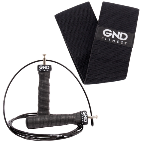GND Skipping Rope & Fabric Resistance Band // Pack