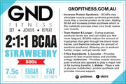 GND STRAWBERRY BCAA 2:1:1 500g