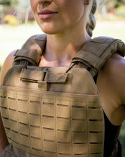GND Weighted Tactical Vest // Tan
