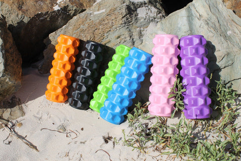 GND SPIKY FOAM ROLLER PURPLE